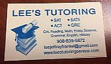 Tutoring Services: